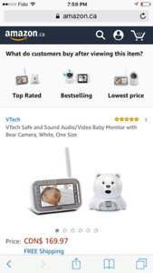 Video baby monitor - brand new in box!