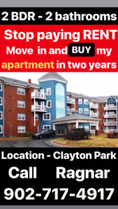 Own this 2 bedroom apartment Clayton Park