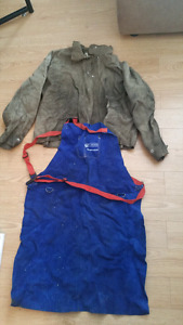 Welding jacket and apron-One low price for both