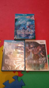 Rodea the sky soldier (ensemble Wii/WiiU)