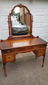 Antique Dressing Table by Gibbard