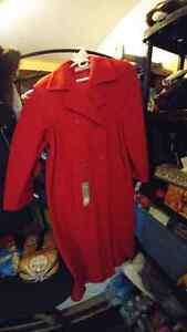 Long Virgin Wool Dress Coat