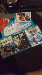 Wii u with 4 games  Kitchener / Waterloo Kitchener Area image 1