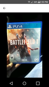 PS4 game    (BATTLEFIELD 1)