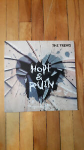 The Trews Hope And Ruin Signed Album LP Record