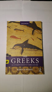 Classics Textbook - The Greeks: An Intro (Robin Sowerby) London Ontario image 1