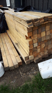 full rough cut 4x4 softwood
