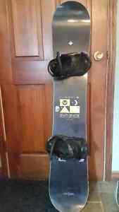 Roxy Eminence 143cm Snowboard and Burton Mint boots