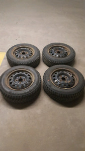 175/65R14 studded winter tires