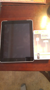 Apple iPad 1st Generation With WiFi + Cellular And New Charger!