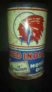 Red Indian Aviation Oil Can Strathcona County Edmonton Area image 1