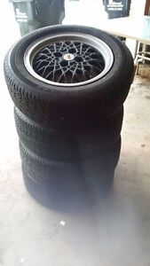 195/60 R15 - BBS Wolfsberg Wheels and Tires