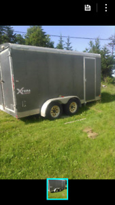 14Ft Enclosed dual axle