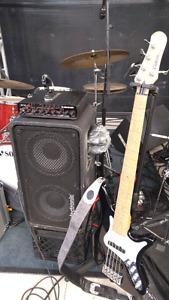 Carvin SB5000 5 string bass