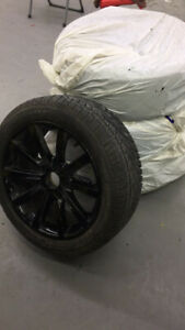 BMW 6 Series 99% New Snow tire 18-inch (include wheel hub)