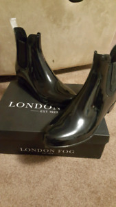 London Fog Rain Boots size 10