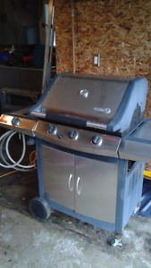 Centro Stainless Steel Gas BBQ