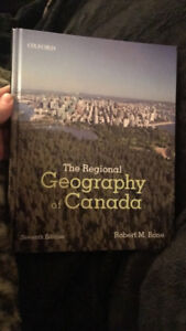 GEOG 2OC3: The Regional Geography of Canada course text