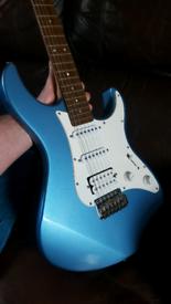 Yamaha Pacifica Pac 112J Lake placid blue guitar rosewood alder body