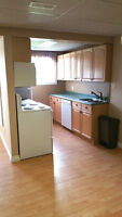 $850/mo - renovated 1 bdrm bsmt suite in College Heights