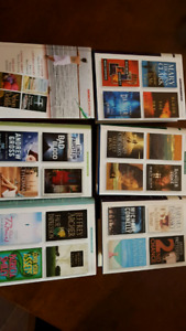 4 stories in each book, 6 books altogether, selling as a lot