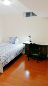 Basement Master Room (with private washroom) for Rent