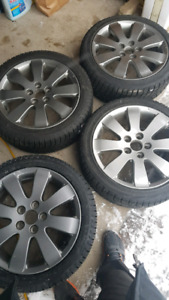 Toyota snow tires and rims