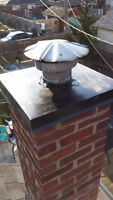 Brick repair, chimney cap installation and much more