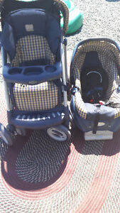 Craco Baby Stroller w/Baby Seat