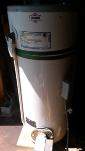 Oil fired hot water tank (with burner)