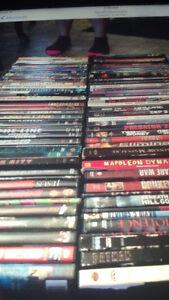 244 DVD'S