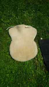Sheepskin English Saddle Seat Saver