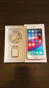 Unlocked iPhone 7 rose gold 32GB