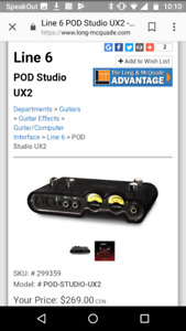 Line 6 ux2 for sale