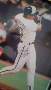 Toronto Blue Jay 1992 World Series MVP Pat Borders signed Memora