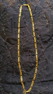 gold plated necklace/chain
