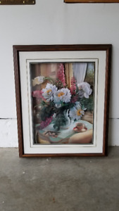 Afternoon Tea Professionally Framed Shadow Box Paper Toll