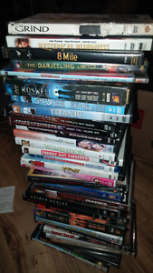 Lot of dvds.