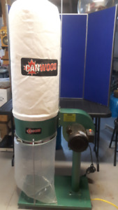 DUST COLLECTOR SYSTEM- 1 HP INDUSTRIAL OR HOME SHOP- LIKE NEW!