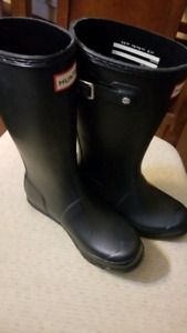 Hunter boots girls with socks