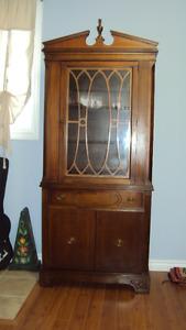 Krug Brothers Walnut Cabinet