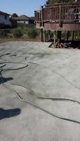 Concrete/cement services