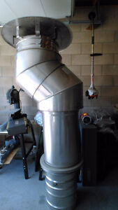 hvac insulated 18 inch elbows