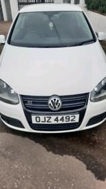 VW Golf GTDI 2.0L White 2008