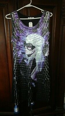 Style pull over Knit dress w/Lady GaGa print size s/m fits up to a 10 FINAL SALE