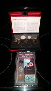 1977 prof. Coin. And pear harbour set