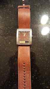 Brown Leather FOSSIL Watch