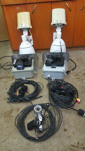 Cattle Cameras, Powerful 30x PTZ Cams x2 plus Stationary Cam
