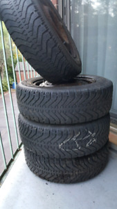 WINTER TIRES SALE 195 65 R15 RIMS