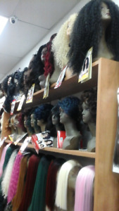 Buy 1 get  2nd  at 50% off wigs and lace wigs